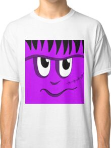 Halloween - purple Frankenstein Classic T-Shirt