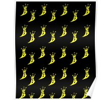 Lil' Kim The Queen Bee Logo Collection - ALL OVER PRINT EDITION (Yellow) Poster