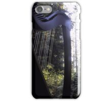 Harp in the Trees iPhone Case/Skin
