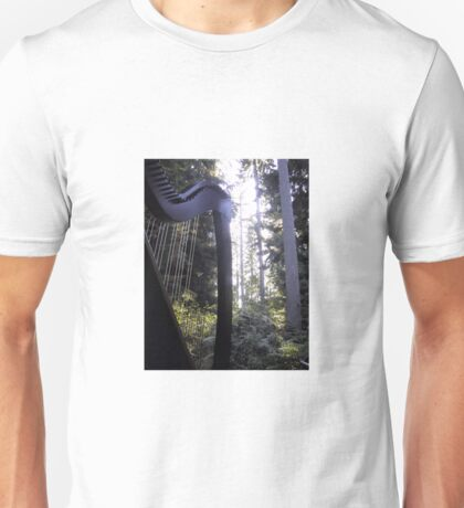 Harp in the Trees Unisex T-Shirt