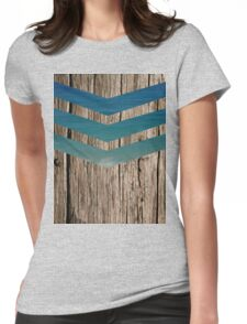 Wood and sea Womens Fitted T-Shirt