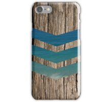 Wood and sea iPhone Case/Skin