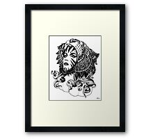 Tigress Framed Print