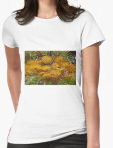 Silky Oak (Grevillea robusta) Womens Fitted T-Shirt