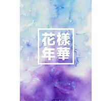 BTS watercolor Photographic Print