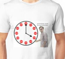 good heavens look at the time Unisex T-Shirt