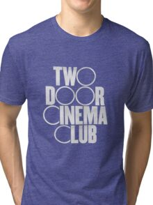 two door cinema club 3 Tri-blend T-Shirt