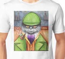 Sherlock Holmes, the British Shorthair Detective! Unisex T-Shirt