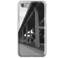 City Street In Black and White iPhone Case/Skin