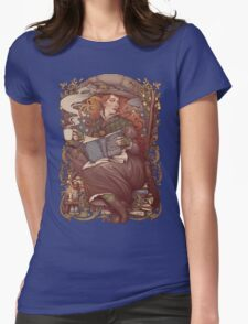 NOUVEAU FOLK WITCH Womens Fitted T-Shirt