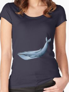 whale Women's Fitted Scoop T-Shirt