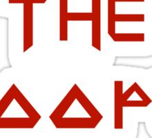 The Trooper Sticker