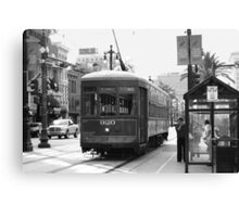 New Orleans Streetcar Canvas Print