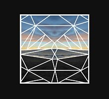 Tessellated Sunset Over the Pacific Unisex T-Shirt