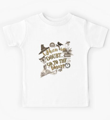 When in doubt, go to the library. Kids Tee
