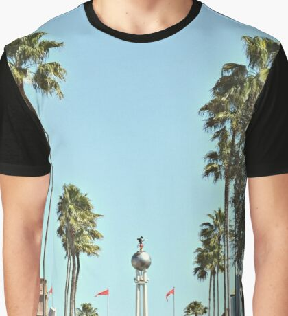 Hollywood Boulevard Strip Graphic T-Shirt