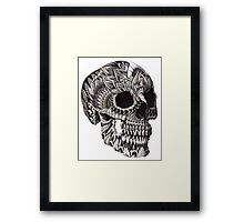 Ornate Skull Framed Print