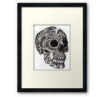 Ornate Skull Framed Print