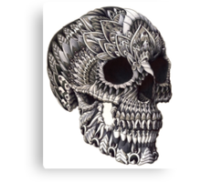 Ornate Skull Canvas Print