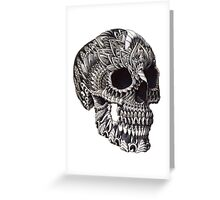 Ornate Skull Greeting Card