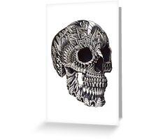 Ornate Skull Greeting Card