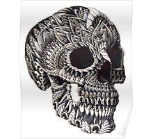 Ornate Skull Poster