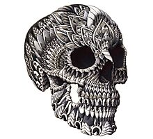 Ornate Skull Photographic Print