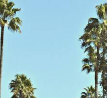Hollywood Boulevard Strip Sticker