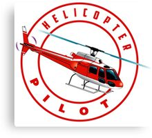 ASTAR Helicopter pilot Canvas Print