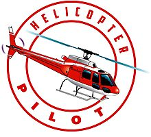 ASTAR Helicopter pilot Photographic Print