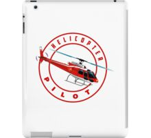 ASTAR Helicopter pilot iPad Case/Skin