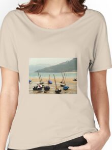 Mist in the Harbour Women's Relaxed Fit T-Shirt