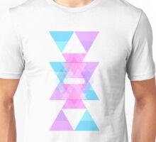 Triangle Overlay Unisex T-Shirt