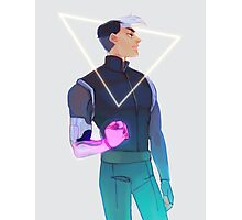 SPACE LAD SHIRO Photographic Print
