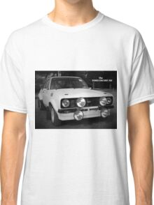 Ford Escort RS Rally Car: 1970s Retro Classic T-Shirt