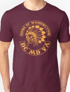 Redskins - Sons of Washington Unisex T-Shirt