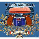 Team Australia! by firstdog