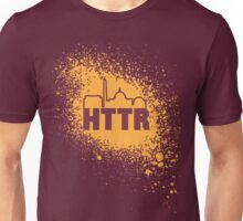 Redskins - HTTR, DC Skyline on Spray Unisex T-Shirt