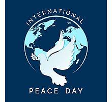 International Peace Day Illustration Photographic Print