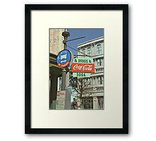 RxDrugs & Coca Cola Framed Print