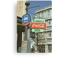 RxDrugs & Coca Cola Canvas Print