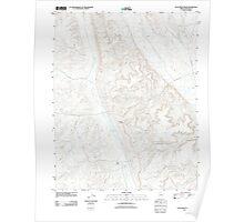 USGS TOPO Map Arizona AZ Dutchman Draw 20111028 TM Poster