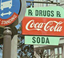 RxDrugs & Coca Cola Sticker