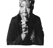 Maya Angelou by BlackMatters
