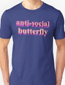 ANTISOCIAL BUTTERFLY TUMBLR Unisex T-Shirt