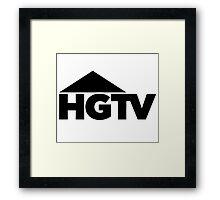 HGTV logo Framed Print