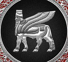 Winged Bull Lamassu [Silver] by Captain7
