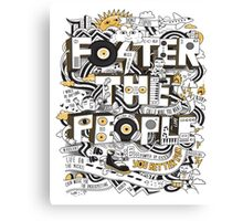foster the people 2 Canvas Print