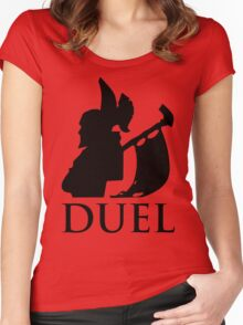 DUEL - The Legion Commander Women's Fitted Scoop T-Shirt