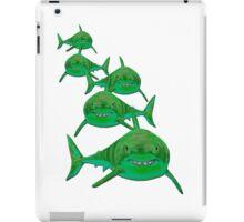 Haie - sharks version 1 iPad Case/Skin